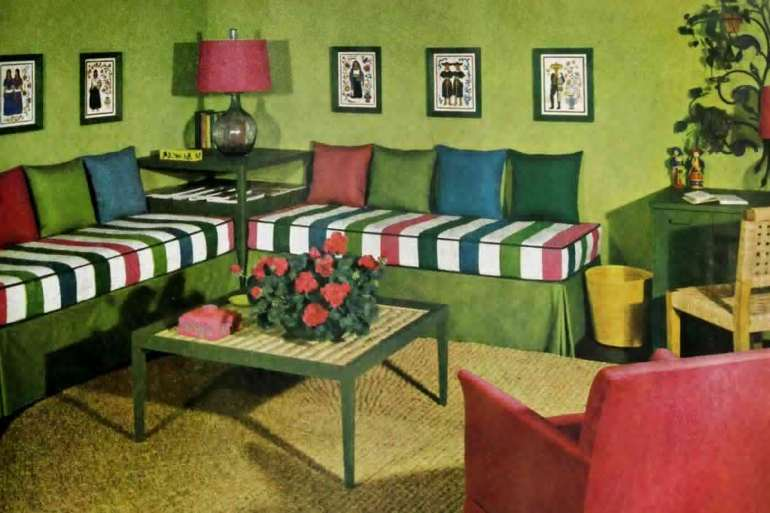 The '40s career girl's apartment - vintage decor (2)