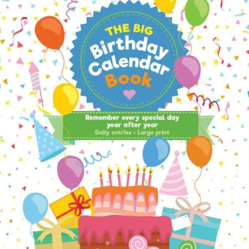 The Big Birthday Calendar Book