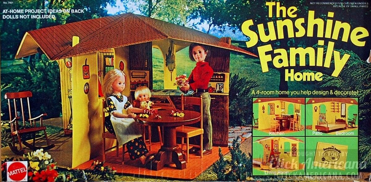 the sunshine family dolls amp vintage playsets 19741978