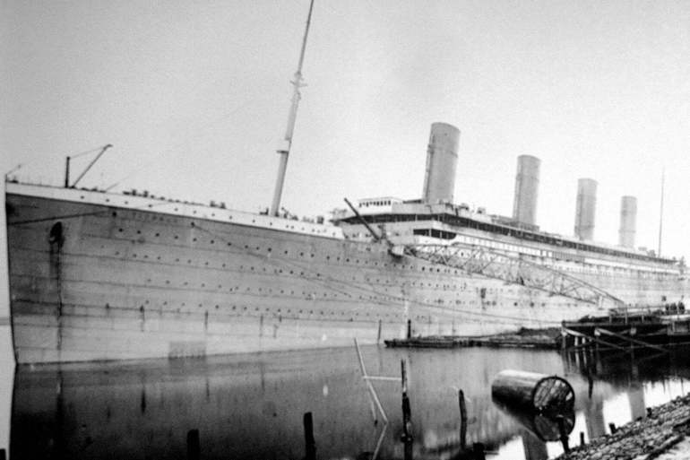 The Titanic in Belfast - 1912