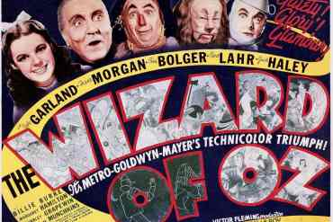 The Wizard of Oz vintage movie poster - Judy Garland