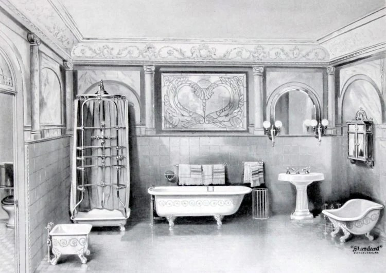 The hottest antique bathroom fixtures from the turn of the century