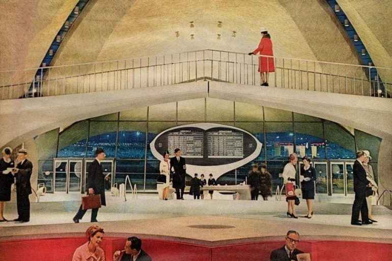The retro futuristic new look of TWA (1963)