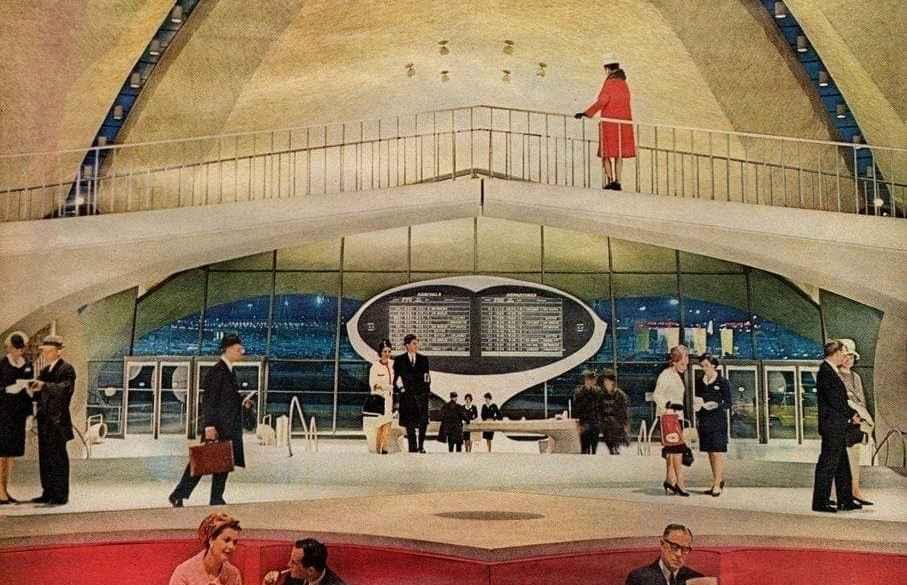 The retro futuristic new look of TWA (1963)