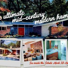 The ultimate mid-century modern home