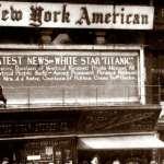Titanic news from the New York American newspaper -1913
