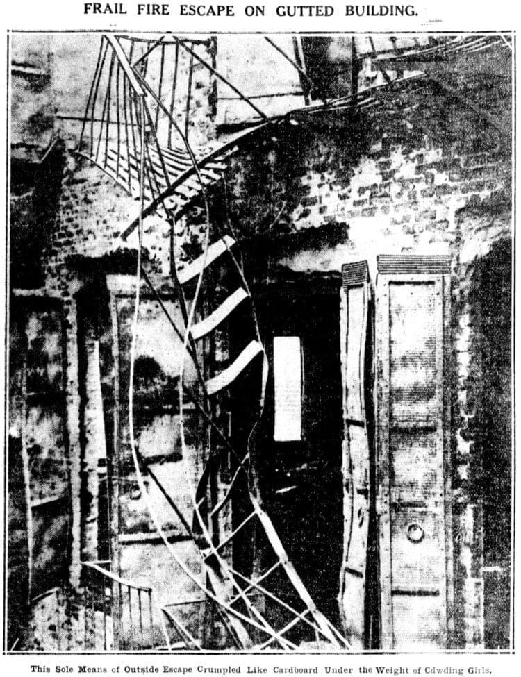 Triangle Shirtwaist Factory fire - Brooklyn Daily Eagle photos March 1911