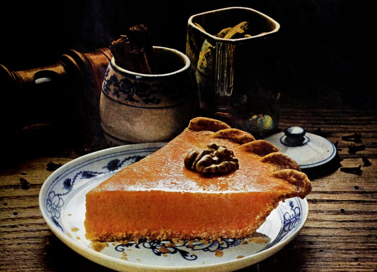 Two classic apple butter pumpkin pie recipes from the '70s
