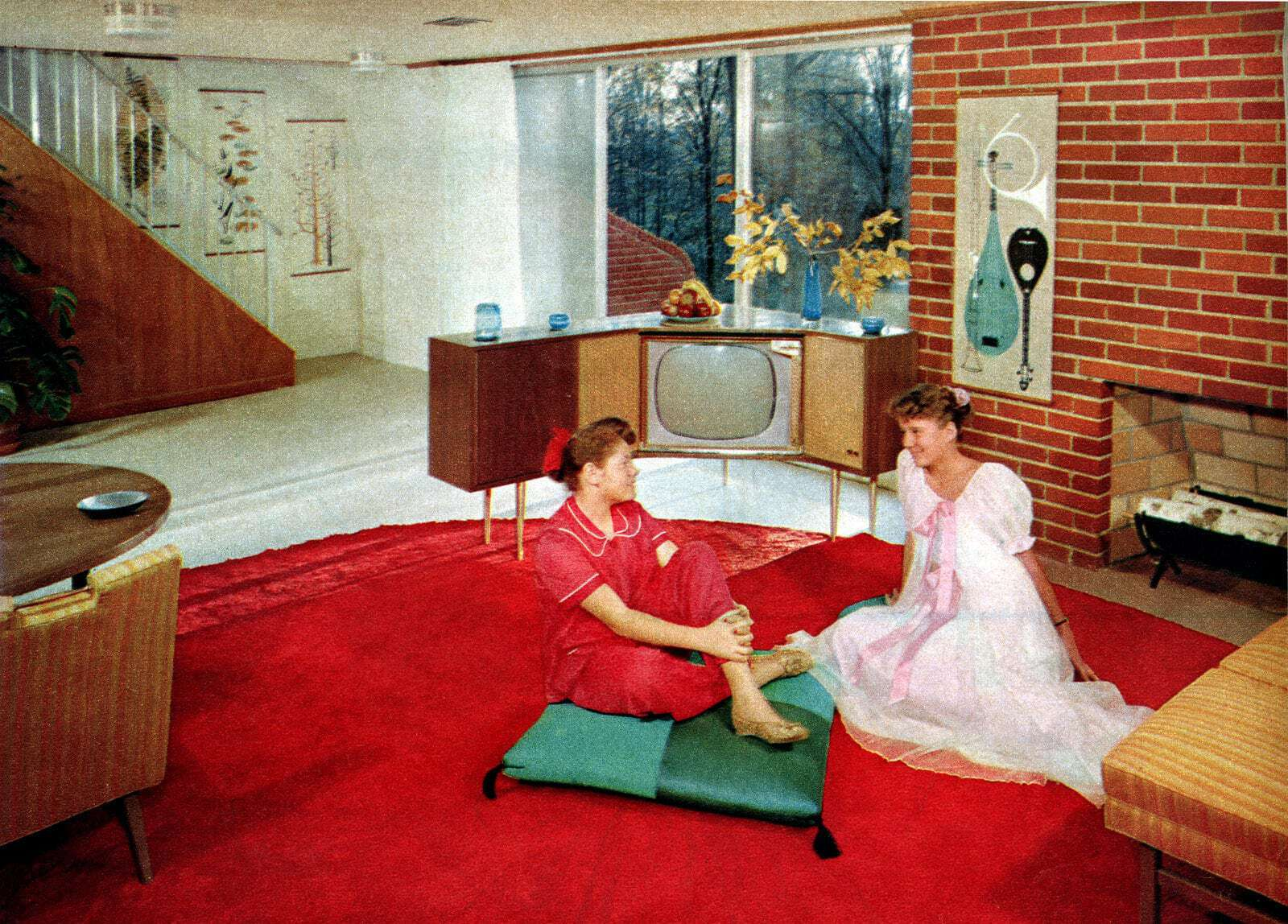 What Did A Typical 1950s Suburban House Look Like Feast