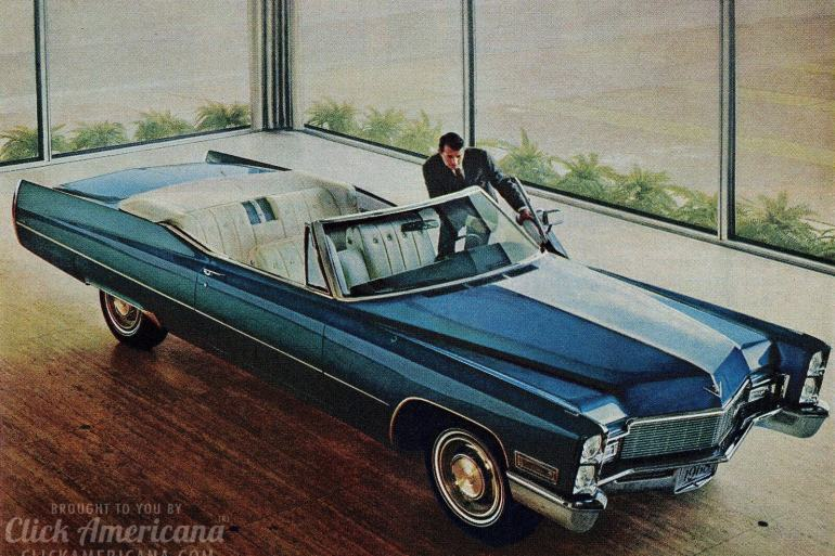 Vintage 1968 Cadillac ads