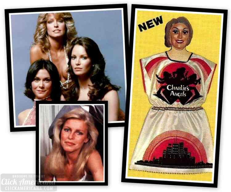 Vintage Halloween costumes from Charlie's Angels