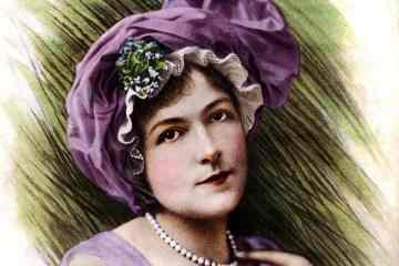 Vintage actress Blanche Bates 1911 - Magazine cover