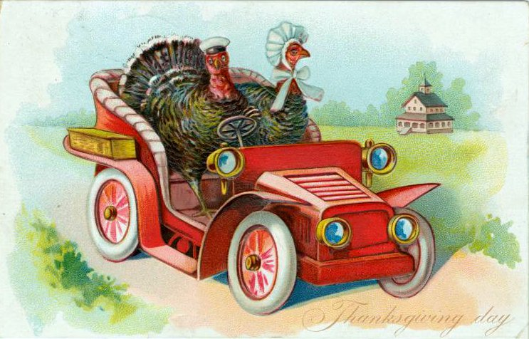 Vintage and antique Thanksgiving postcards from the early 1900s (7)