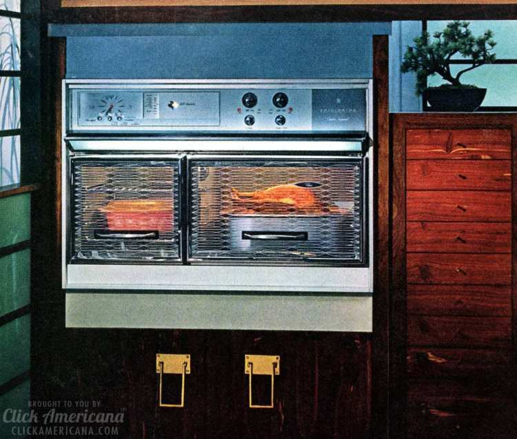 Vintage kitchen appliances from 1965 - retro Flair ranges