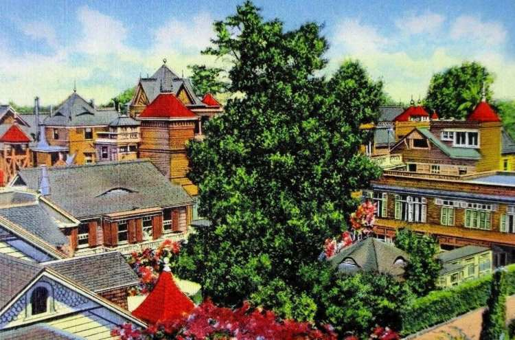 Vintage postcard - Winchester Mystery House