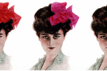 Vintage style The sweeping popularity of ribbons (1906)