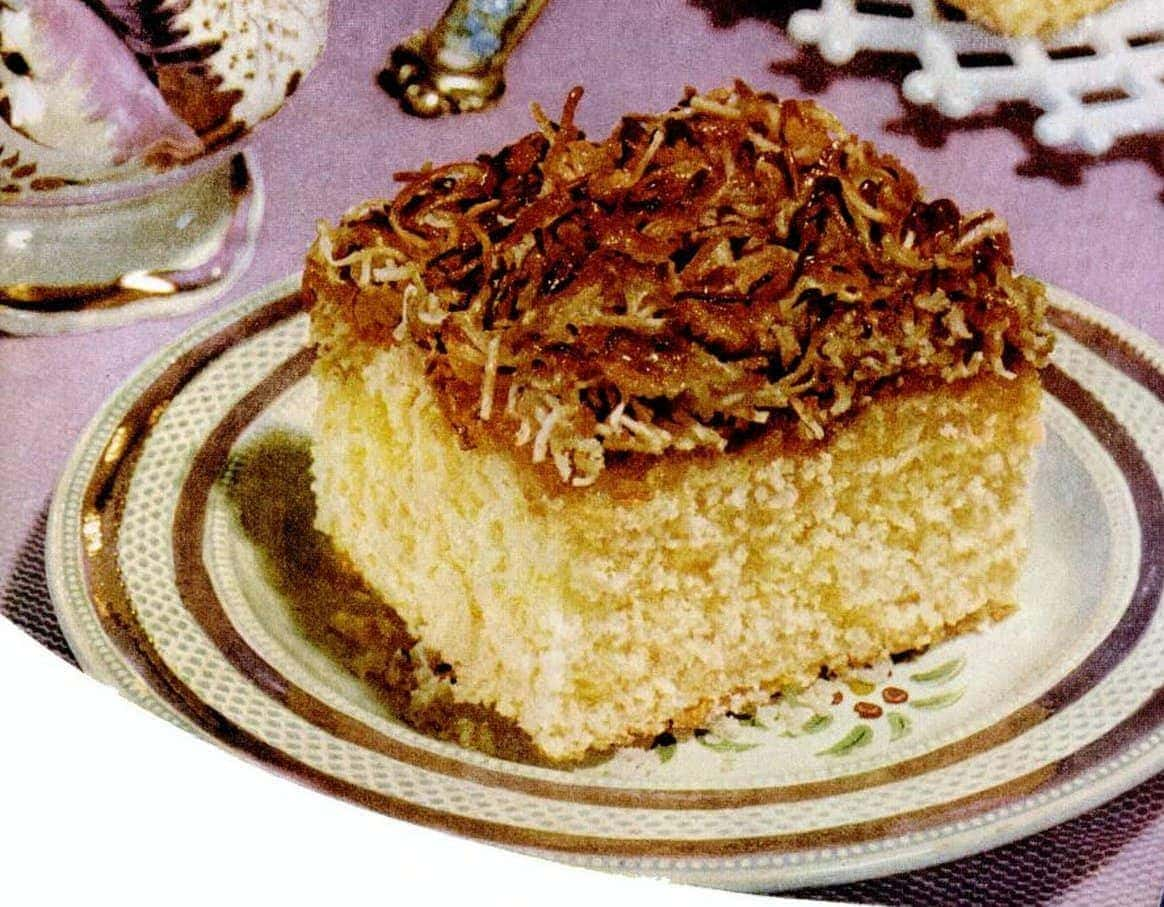 Vintage velvet crumb cake: A classic cake recipe from 1952 that\'s ...