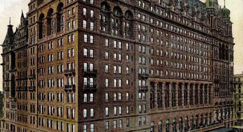 Waldorf Astoria, New-York c1909