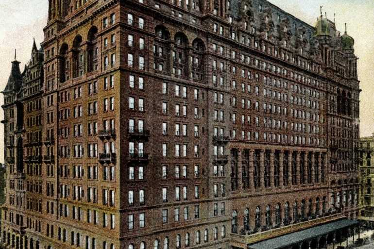 Waldorf Astoria, New-York c1909
