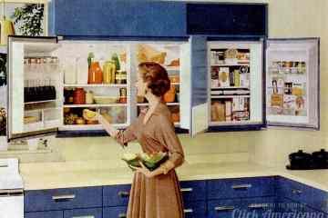 Wall-mounted refrigerator GE 1956