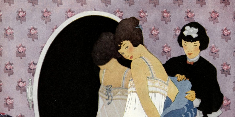 Wedding Bridal lingerie (1920)