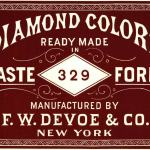 Diamond colors ready-made paint
