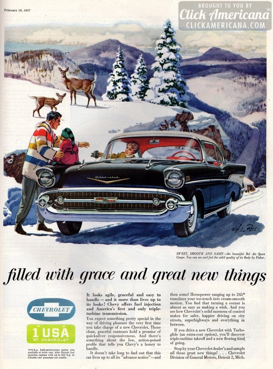 Sweet Smooth Amp Sassy Chevys Bel Air Sport Coupe 1957