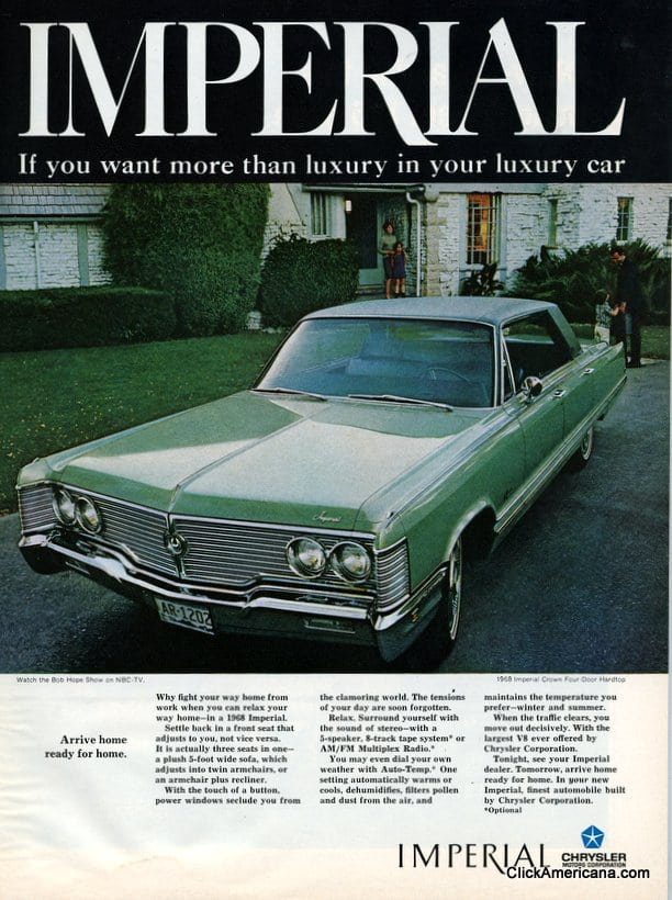 The 1968 Chrysler Imperial Click Americana