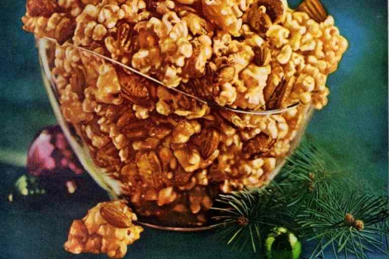 Karo crazy crunch caramelized popcorn (1964)