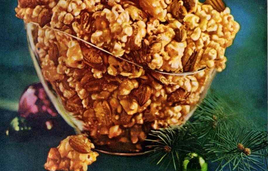 Karo crazy crunch caramelized popcorn (1964)