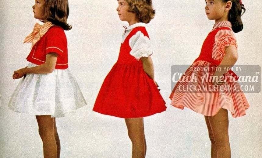 sweet sugarplums christmas dresses for little girls 1962 - Vintage Christmas Dress