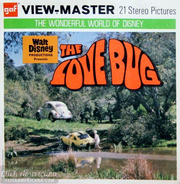 Herbie, the Love Bug - Disney Viewmaster