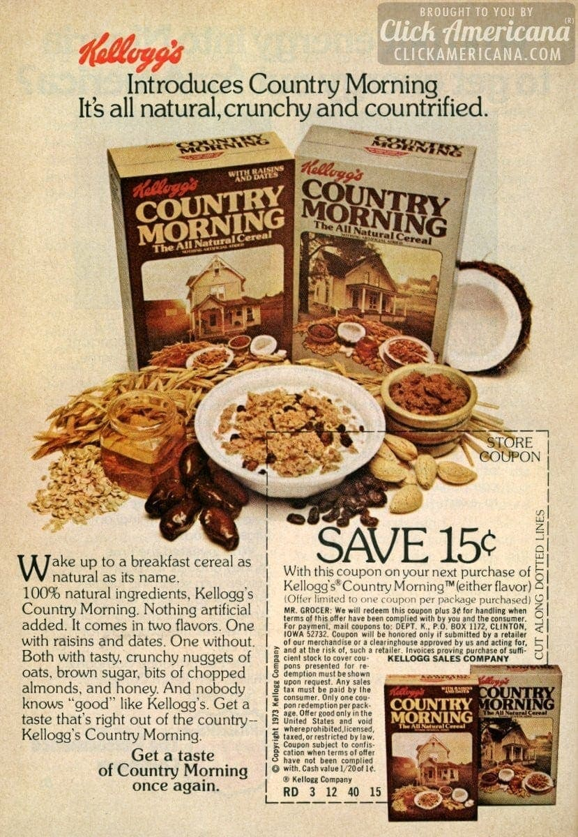 Kellogg S Introduces Country Morning Breakfast Cereal