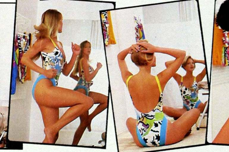 18 stylish '80s swimsuits Shapely, slimming, sexy summer swimwear