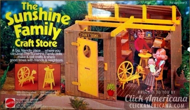 The sunshine family play sets 1974 1978 click americana for Good craft 2 play store