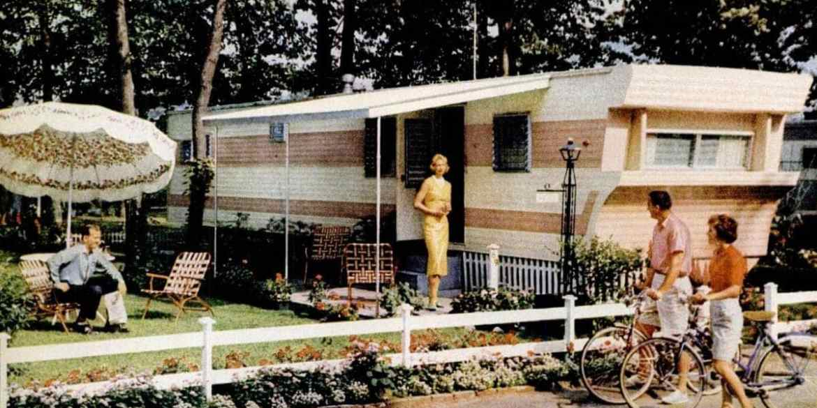 Mobile Homes The Hot Housing Trend Of The 50s And 60s Click