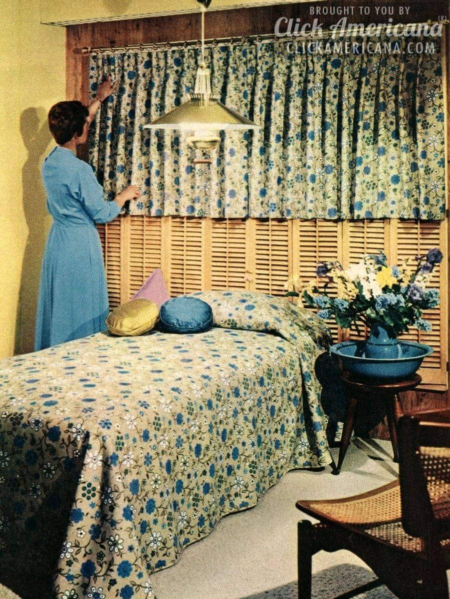Wisdom For Window Treatments 1959 Click Americana