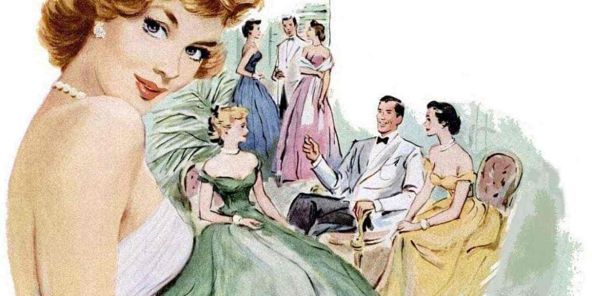 Courtship and dating: Though romance matters, money also counts (1952)