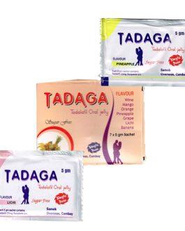 Tadaga Oral Jelly Flavoured 20mg