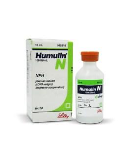 Humulin N 100 IU Vial 10ml