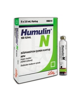 Humulin N Cartridge 100IU