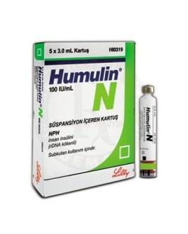 Humulin N Cartridge 100IU