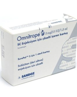 Omnitrope 5 mg 15 IU