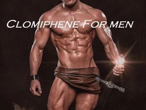 Clomiphene For Men