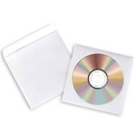Avery Paper CD/DVD Sleeve Extra Large Window Pack of 100 White SL1760-100-0
