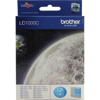 Brother LC1000C Ink Cartridges Cyan LC-1000C-0