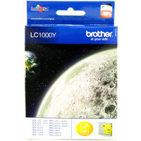 Brother LC1000Y Ink Cartridges Yellow LC-1000Y-0