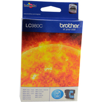 Brother LC980C Ink Cartridges Cyan LC-980C-0