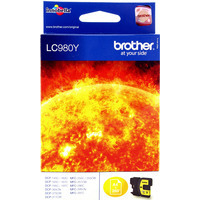 Brother LC980Y Ink Cartridges Yellow LC-980Y-0