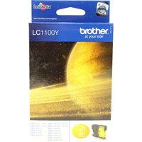 Brother LC1100Y Ink Cartridges Yellow LC-1100Y-0